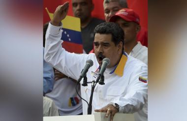 Nicolás Maduro, presidente chavista de Venezuela.