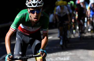 El ciclista italiano Fabio Aru.