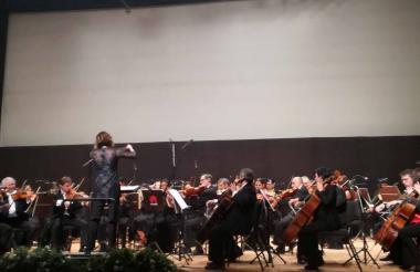 Presentación de Alondra De la Parra en México.