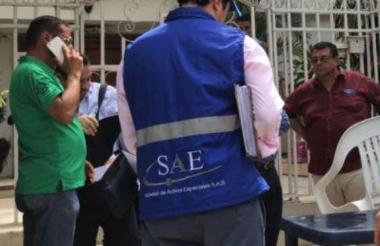Imagen para ilustrar nota, de un operativo en el que participó la SAE.