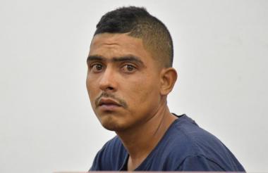 Brayan de Jesús Rivera Hernández, capturado.