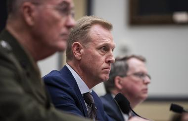 Patrick Shanahan, jefe interino del Pentágono,  anunció el desbloqueo de 1.000 millones de dólares.