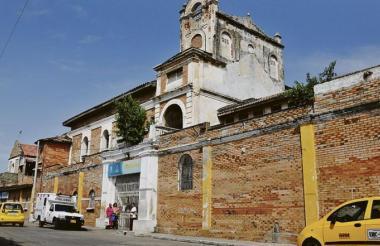 El accidente se presentó en el interior del Hospital General de Barranquilla.