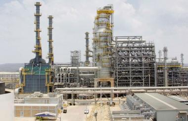 Planta de la Refinería de Cartagena.