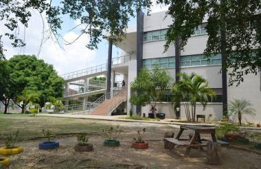 Jardines de la Universidad de Sucre.