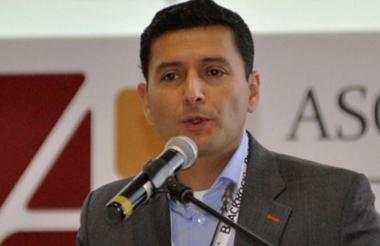 Jorge Castaño, superintendente financiero.