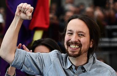 Pablo Iglesias, secretario general del partido político Podemos.