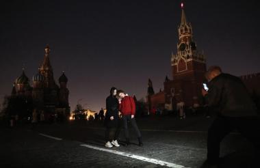 Rusia se sumó a la jornada mundial.