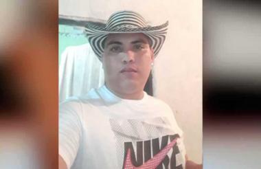 Alexander Cardozo Hernández, asesinado.