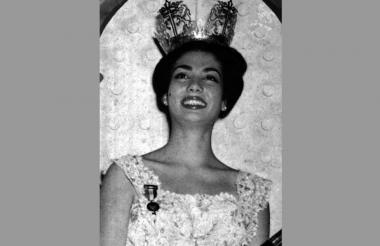 Martha Ligia Restrepo, Señorita Colombia 1962.