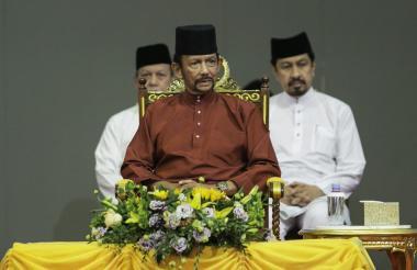 Hassanal Bolkiah, el sultán de Brunéi.