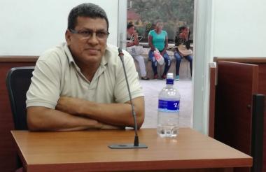 Elmer Rudas Menco, periodista capturado.