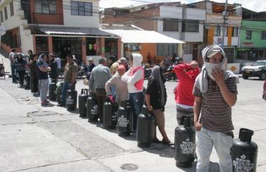 Bloqueos viales en Cauca.