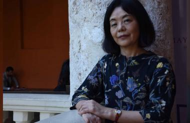 La escritora japonesa Yoko Tawada, que ha vivido gran parte de su vida radicada en Alemania.