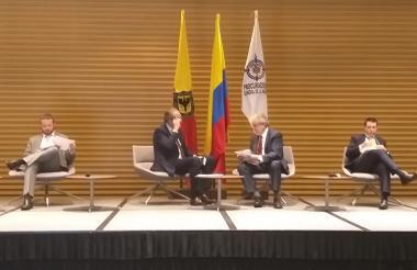 Procurador Fernando Carrillo y el Contralor Felipe Córdoba
