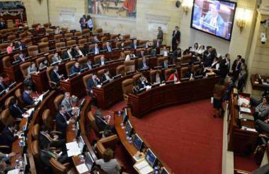 La plenaria de la Cámara para la votación de las objeciones será el lunes.