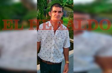 Leonardo Antonio Sánchez Rivera, secuestrado.
