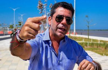 El alcalde Alejandro Char Chaljub.