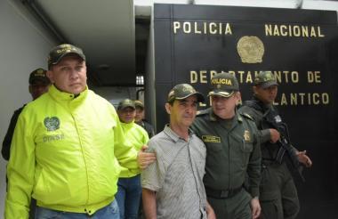 Leonardo Antonio Sánchez Rivera llega al comando de Policía del Atlántico.