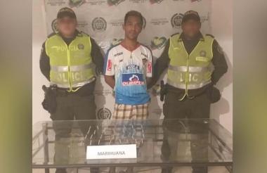 Cae en Ponedera con 30 cigarrillos de marihuana, capturado.
