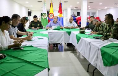 Precisamente este lunes las autoridades en Montería realizaron un consejo de seguridad para evaluar la criminalidad.