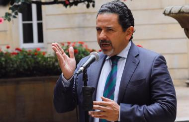 Miguel Ceballos, alto comisionado para la paz.
