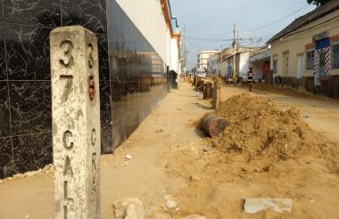 En esta cuadra del barrio San Roque se registró el atentado a bala.