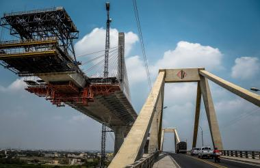 Las obras del puente Pumarejo son una de las prioridades en la inversión para el departamento.