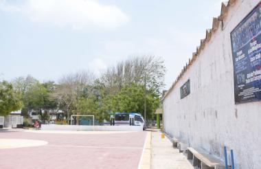 Cancha de Las Monjitas, ubicada en El Silencio.