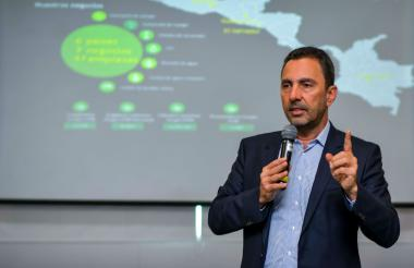 Jorge Londoño, gerente de EPM.