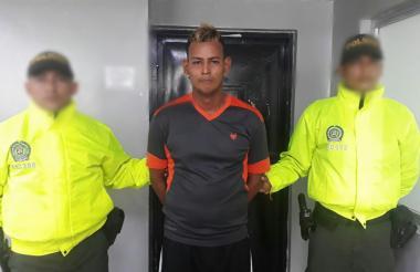 Jonathan Andrés Márquez Márquez, capturado.