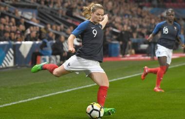 La francesa Eugénie Le Sommer, una de las mejores jugadoras del mundo.