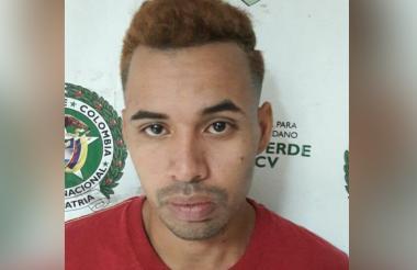 Armando Flórez Alvarino, capturado.