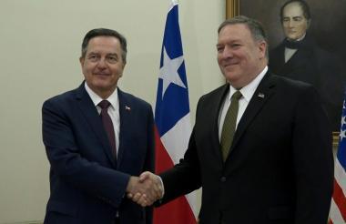 Después de Chile, Pompeo viajaba a Paraguay.