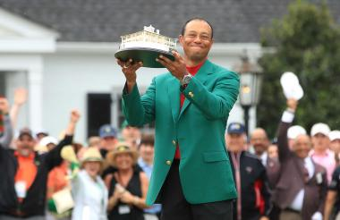 Tiger Woods, ganador del 83º Masters de Augusta.