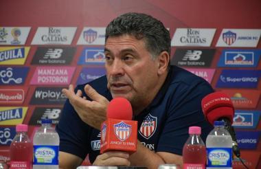 El técnico Luis Fernando Suárez.