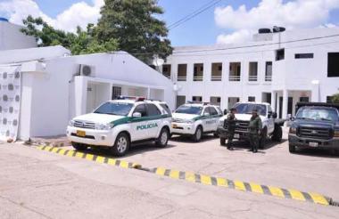 Estación de Policía de Maicao.