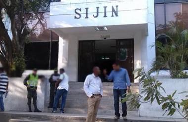 Los agresores fueron denunciados en las instalaciones de la Sijín de la Policía.