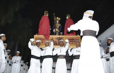 La celebración de la Semana Mayor en Tolú empieza hasta un mes y medio antes de la fecha y es de las más reconocidas en el país.