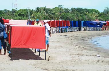 Playas de Coveñas.