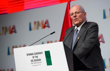 El expresidente peruano Pedro Pablo Kuczynski.