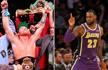 LeBron James producirá un documental sobre la pelea de Saúl 'Canelo' Álvarez.