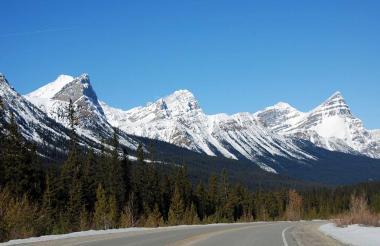 Las Montañas Rocosas canadienses.