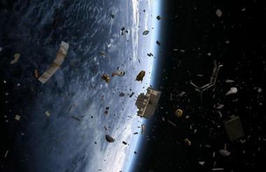 Estos desechos pueden causar daños a naves.