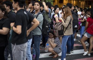 Un terremoto de magnitud 6,3 sacudió el norte de Filipinas.