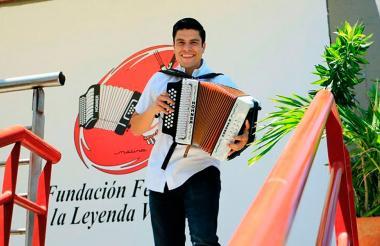 Juan David Payares, uno de los competidores que busca ganar el Festival.