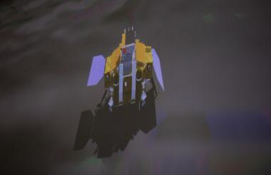 Alunizaje de la sonda china en la cara oculta de la Luna.
