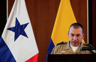 Brigadier general y comandante de la Séptima División del Ejercito Nacional de Colombia, Juan Carlos Ramírez Trujillo.