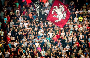 Aficionados del FC Twente.