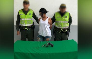 Dani Luz Peña Medina es una de las mujeres que ha sido capturada este año por la Policía Metropolitana.